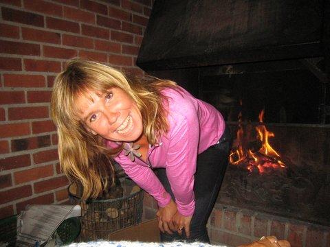 Christina Polbring med eld i baken