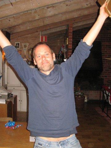 Petter Lindgren, stolt pristagare