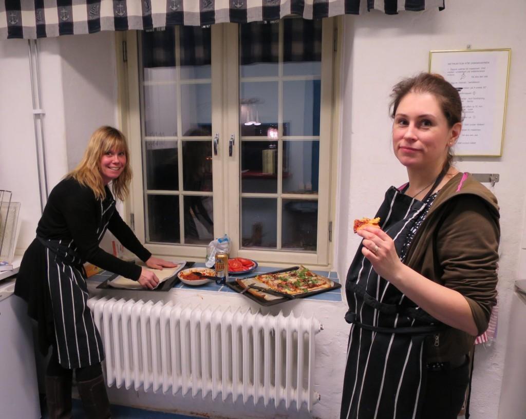 Pubaftonens värdar, Christina Polbring och Susanna Billgren